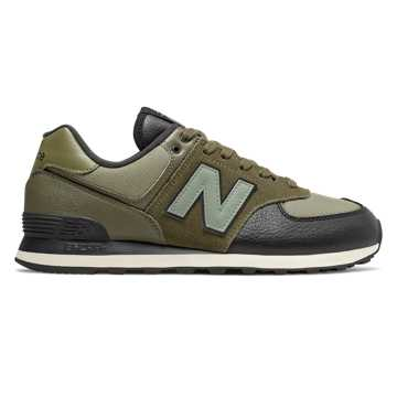 New Balance 574, Covert Green with Trumph Green