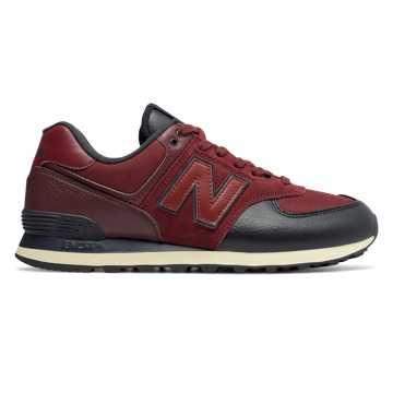 New Balance 574, Burgundy