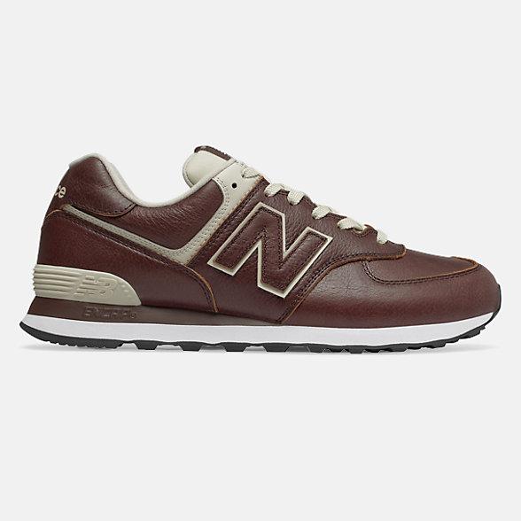 New Balance 574系列男女同款复古休闲鞋, ML574LPB