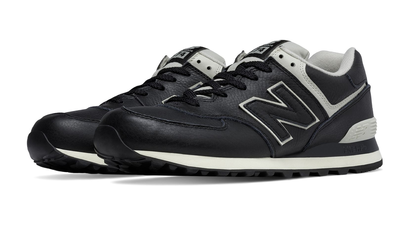 new balance 574 mens leather powder