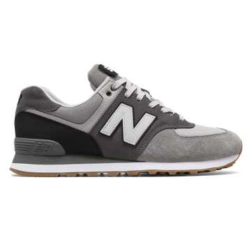 New Balance 574 Military Patch, Marblehead with Black