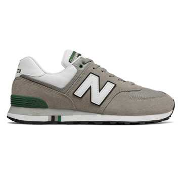 New Balance 574 Summer Shore, Marblehead with Team Forest Green