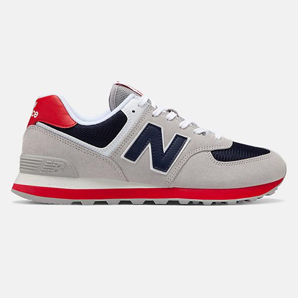 New Balance 574系列男女同款復古休閑運動鞋, ML574MUB