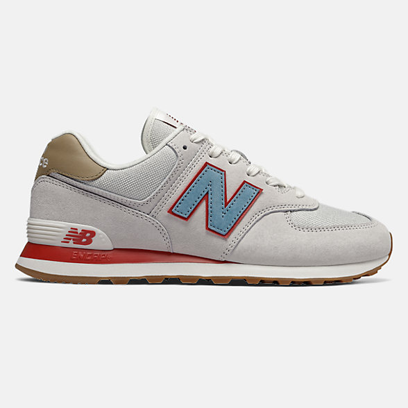 New Balance 574男女同款復古休閑運動鞋 復古百搭, ML574NCB