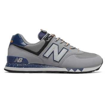 New Balance 574, Steel with Moroccan Tile