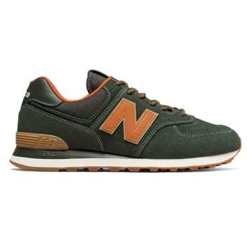 New Balance 574, Rosin with Vintage Orange