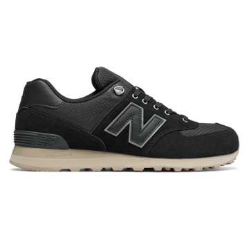 New Balance 574 Outdoor Activist, Black with Sand