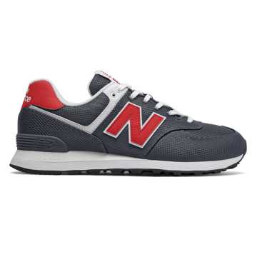New Balance 574, Thunder with Team Red