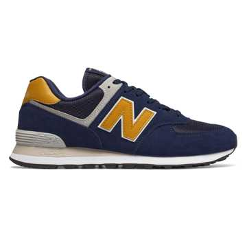 New Balance 574, Pigment with Brass