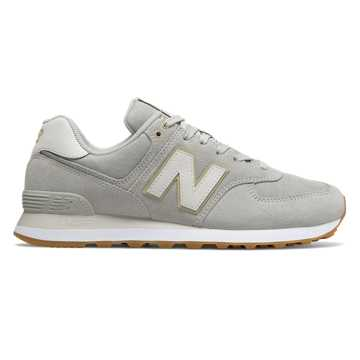 New Balance 574, Rain Cloud with Moonbeam