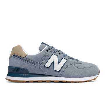 New Balance 574, Chambray with Hemp