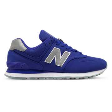 New Balance 574 Synthetic, UV Blue