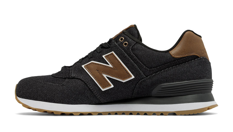 new balance 574 15 ounce canvas
