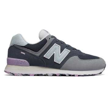 New Balance 574 Marbled Street, Vintage Indigo with Reflection