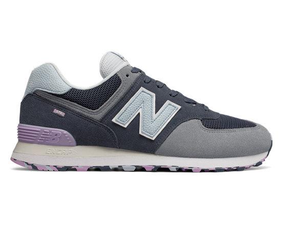 new balance 574 violet femme