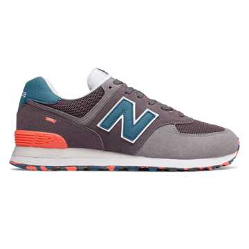 New Balance 574 Marbled Street, Light Shale with Sea Smoke