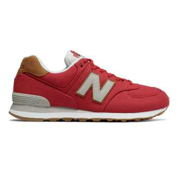 New Balance 574 Sea Escape, Team Red with Overcast