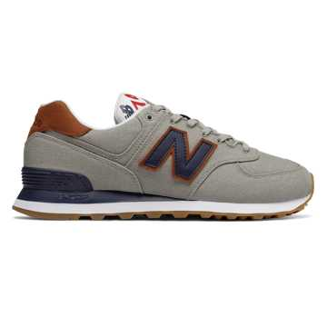 New Balance 574 Sea Escape, Stone Grey with Pigment
