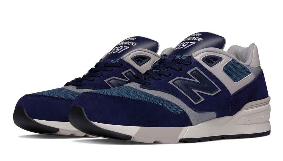 new balance in blue