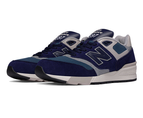 New Balance 597, Running Homme, Multicolore (Blue Black/Orion Blue/Grey AAA), 40 EU