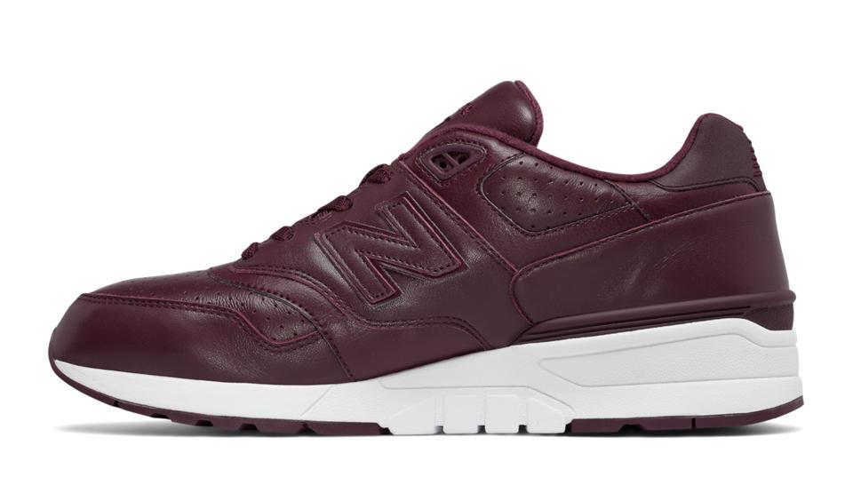 new balance 597 leather