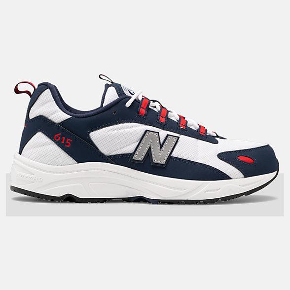 New Balance 615系列男女同款休闲运动鞋, ML615NNR