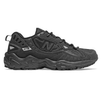 New Balance 703系列男款戶外復古休閑運動鞋, 黑色