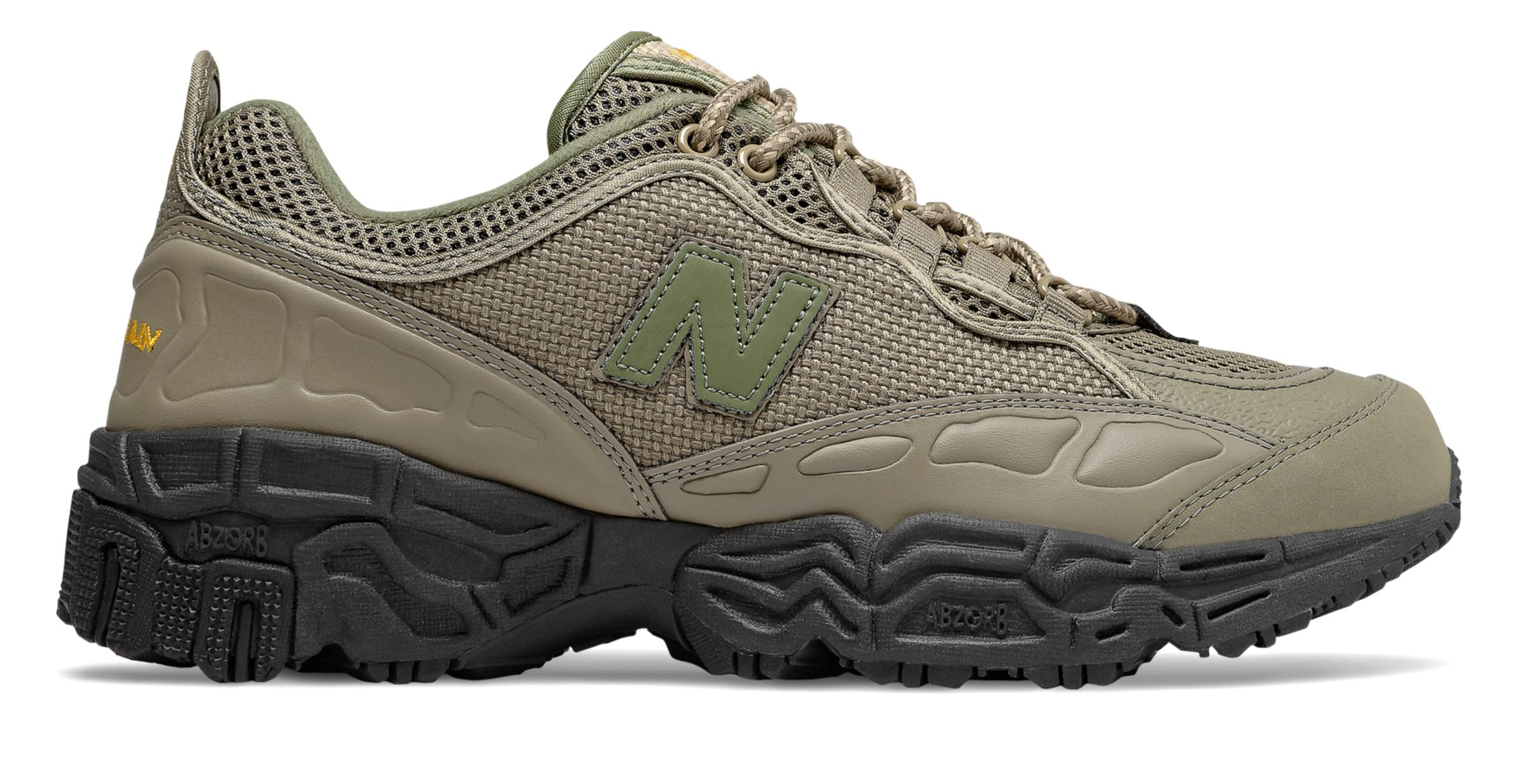 A trail-inspired sneaker for the rugged outdoors.