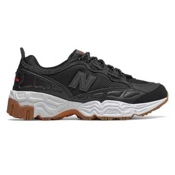 New Balance 801, Black with White