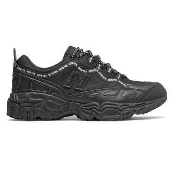 New Balance 801系列男款复古老爹鞋, 黑色