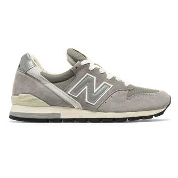 New Balance 996 Made in US, Grey with White