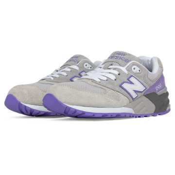New Balance 999男女同款复古休闲运动鞋 潮流百搭, ?#35013;?#33394;/紫色