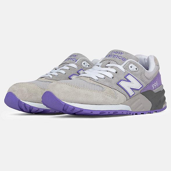 New Balance 999系列男女同款复古休闲运动鞋, ML999AA
