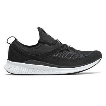 New Balance LAZR系列男款跑步鞋 轻量缓震 舒适回弹, 黑色