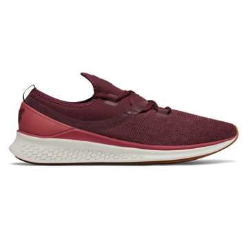 New Balance Fresh Foam Lazr Heathered, Burgundy with Sea Salt & Chili Pepper
