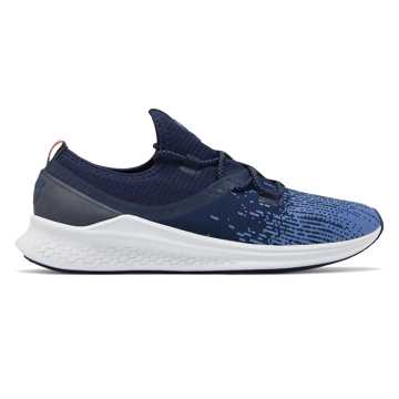 New Balance Men's Fresh Foam Lazr Boston, Vintage Indigo with Pigment & White