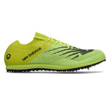 New Balance LD5K v7, Bleached Lime Glo with Sulphur Yellow & Black