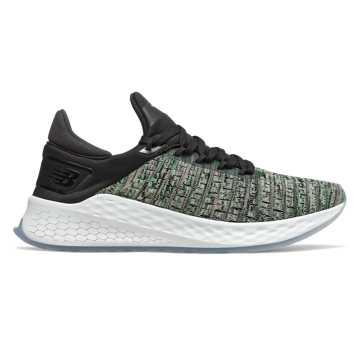 New Balance FreshFoam Lazr v2 HypoKnit男款跑步鞋 快速回弹, 绿色/黑色