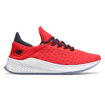 New Balance Fresh Foam Lazr v2 Hypoknit, Energy Red with Outerspace