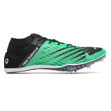 New Balance MD800v6 Spike, Neon Emerald with Black