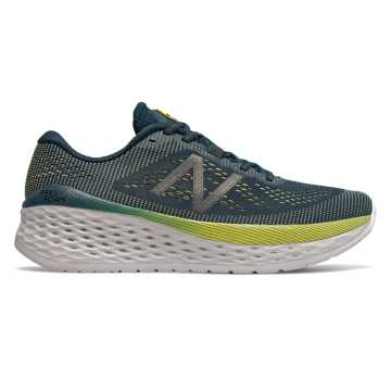 New Balance Fresh Foam More, Supercell with Orion Blue & Sulphur Yellow