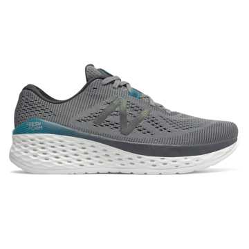 New Balance Fresh Foam More, Gunmetal with Lead & Deep Ozone Blue
