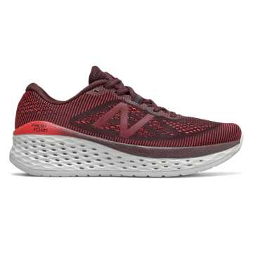 New Balance Fresh Foam More, Henna with Energy Red & Burgundy