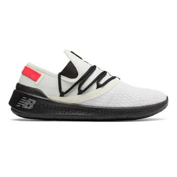 New Balance Fresh Foam Lazr NXT, White Munsell with Black