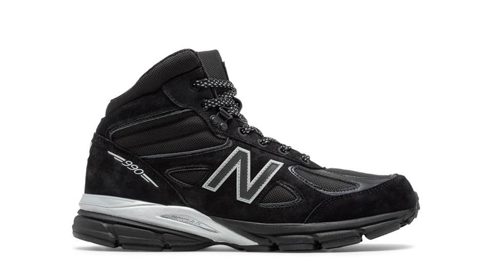 New Balance 990v4 Mid Black Panther Black/Silver