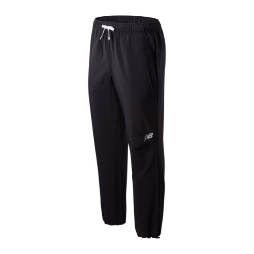 New Balance Hombre Tenacity Sideline Pant - Black, Black