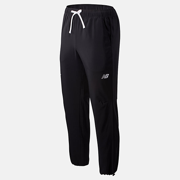 New Balance Popular Brooklyn Half Tenacity Sideline Pant, MP01011FBK