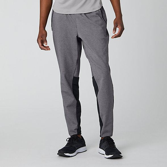New Balance Fortitech Lightweight Knit Pant, MP01143BKH