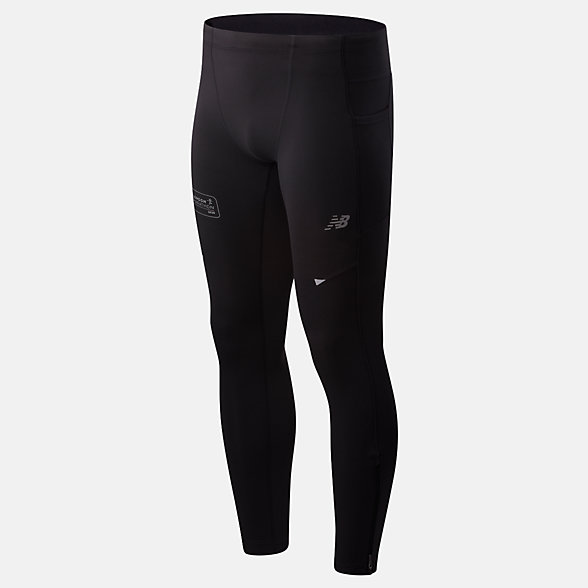 NB London Edition Printed Impact Run Leggings, MP01248DBRD