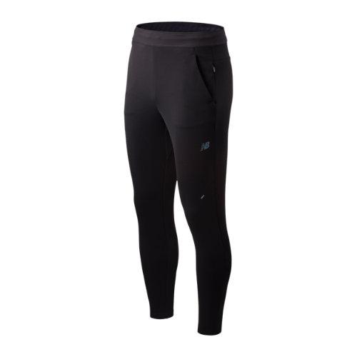 New Balance Hombre London Marathon Q Speed Crew Run Pant - Black, Black